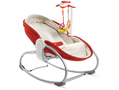 3-in-1 Rocker-Napper, Red, , large