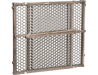 Vintage Grey Wood Doorway Gate, , large