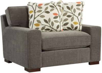Chene Park Chair and 1/2, Brown, swatch