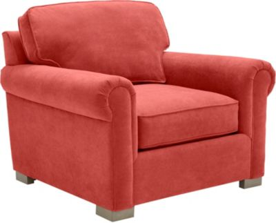 Cadillac Square Chair, Red, swatch