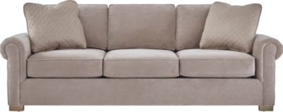 Cadillac Square Sofa, Grey, swatch