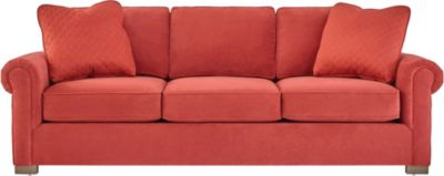 Cadillac Square Sofa, Red, swatch