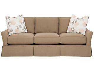 """Gem 82"""" Sofa, Walnut, large"""