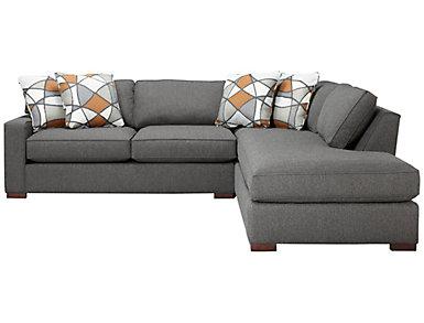 St Clair 2 Piece Left-Arm Facing Apartment Sofa Sectional, , large