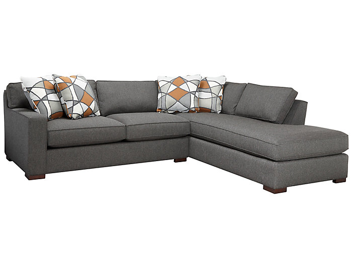 St Clair 2 Piece Left-Arm Facing Apartment Sofa Sectional