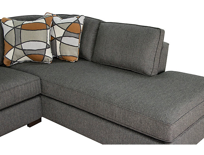 St Clair 2 Piece Left Arm Facing Apartment Sofa Sectional Large