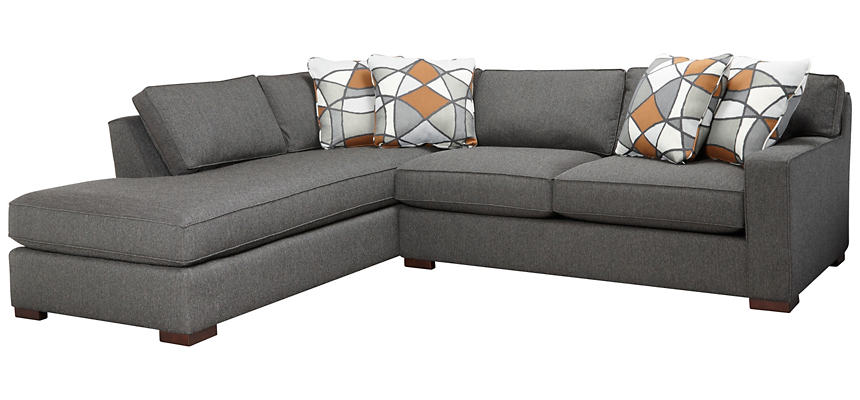 St Clair 2 Piece Right-Arm Facing Apartment Sofa Sectional