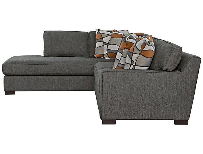 St. Clair 2 Piece Right-Arm Facing Apartment Sofa Sectional