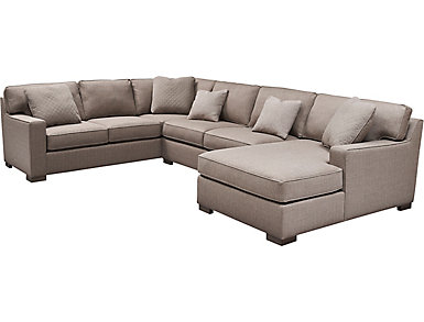 Griswold 3 Piece Right-Arm Facing Chaise Sectional, , large