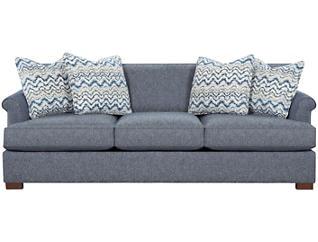 Lafayette Sofa, Blue, large