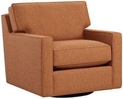 Chene Park Chair and 1/2, Orange, swatch