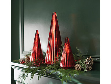 "10"" Mercury Glass Christmas Tree, , large"