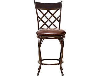 lattice counter stool