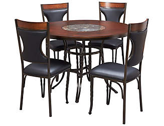 Dynasty Round Table U0026 4 Chairs