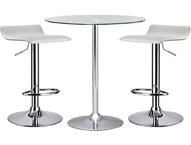 Versa Table and 2 Barstools, , large