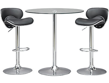Vera Table and 2 Stools, , large