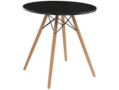 "Annette 27.5"" Black Table, , large"