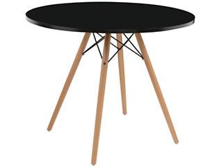 "Annette 40"" Black Table, , large"