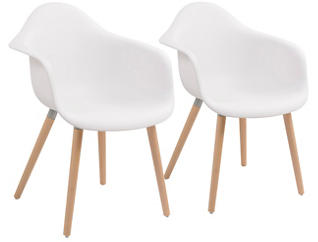 Annette Arm Chair - Set of 2, , large