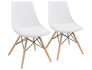 Annette White Chair - Set of 2, , large