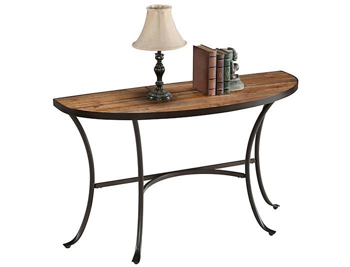 Berkeley Sofa Table, Brown, , large