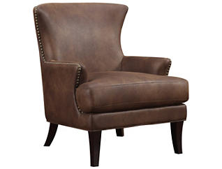 Nola Accent Chair, Brown, , large