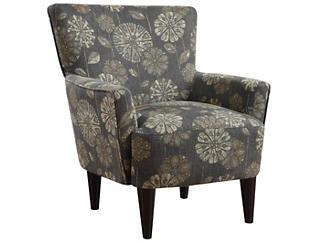 Flower Power Chair, Pewter/Grey, , large