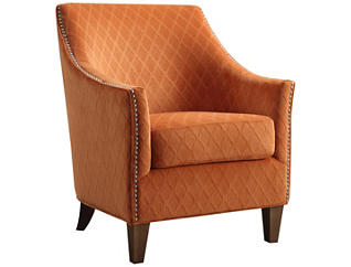 Kismet Accent Chair, Orange, , large