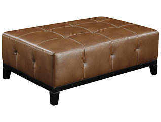 Marquis Cocktail Ottoman, Chestnut, large