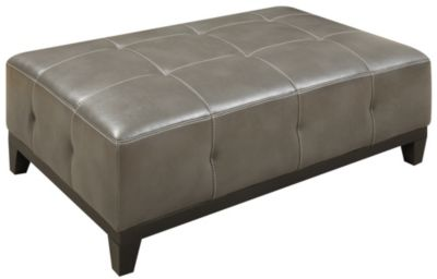 Marquis Cocktail Ottoman, Grey, swatch