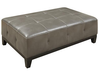 Marquis Cocktail Ottoman, Grey, large