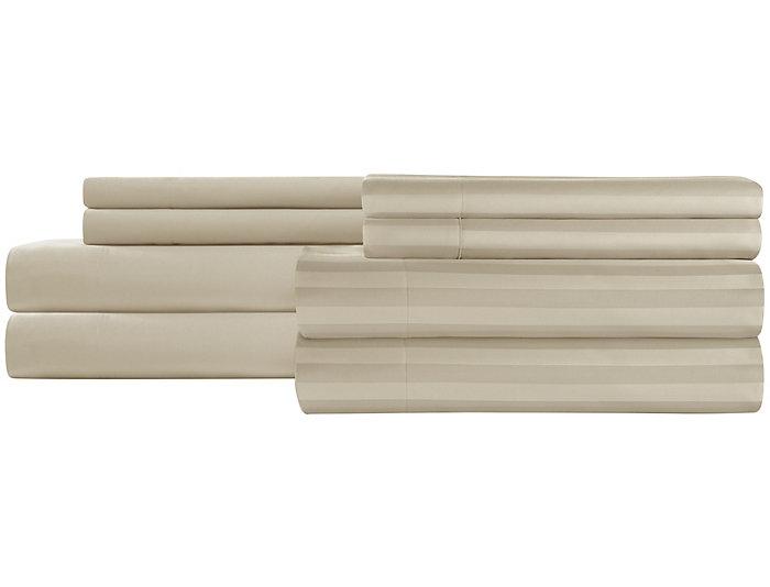 Microfiber 2 Pack King Sheet Set-Tan, , large