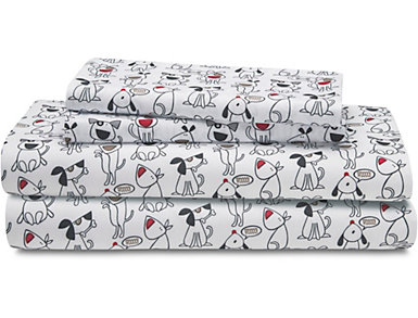 Queen Juvenile Sheet Set, Dog, , large