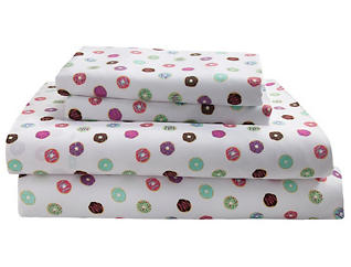 Juvenile Donuts Sheet Set-Queen, , large
