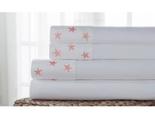 Twin MF Sheet Set, Starfish, , large