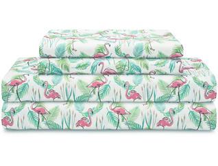 T Print Sheet Set, Flamingo, , large