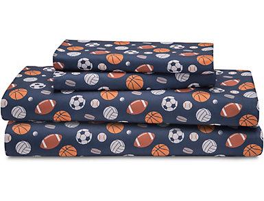 Juvenile Sport Sheet Set, Twin, , large