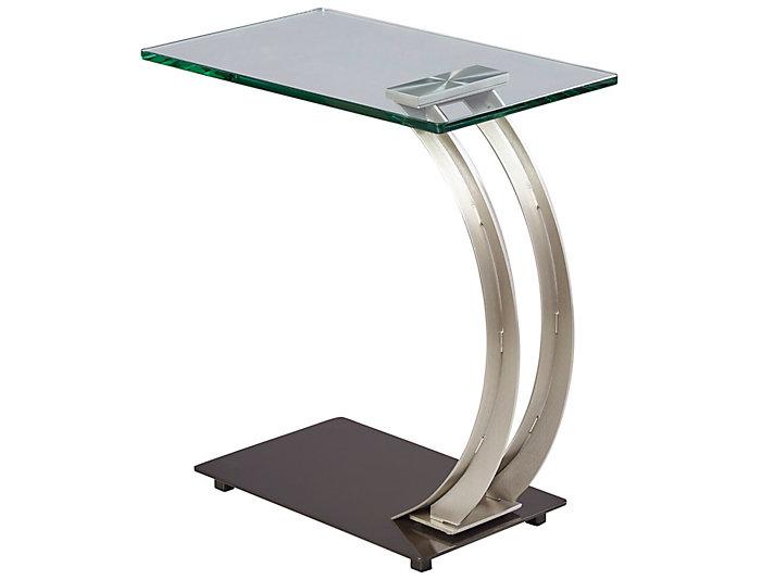 Encore Chairside Table, Metal, , large