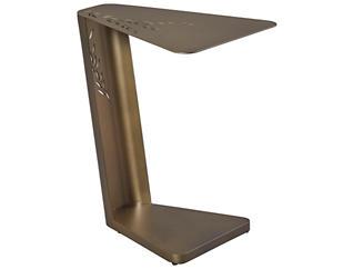 Lulu Chairside Table, Metal, , large