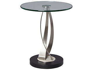 Gigi Chairside Table, Metal, , large