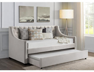 Bayside Taupe Twin Day Bed, , large
