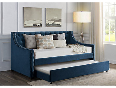 Bayside Navy Twin Day Bed, , large
