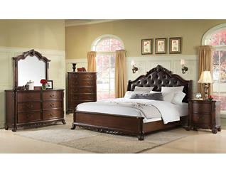 Christina Cherry Queen Headboard, , large