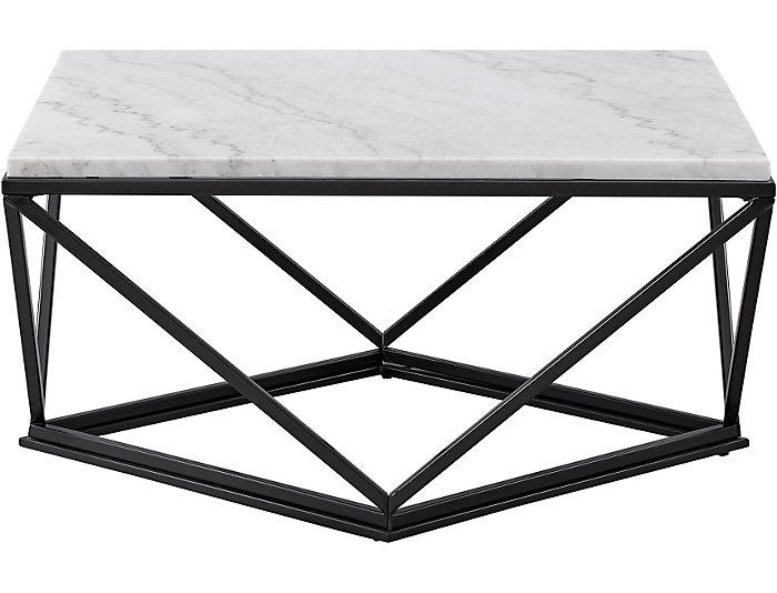 White Marble Coffee Table.Riko White Marble Coffee Table