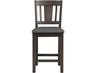 Cash Walnut Counter Chair, , large