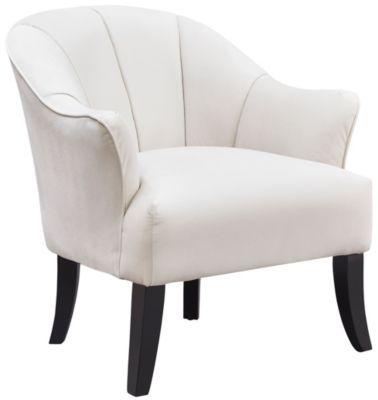 Diego Accent Chair, Cream, swatch
