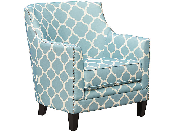 ... Dinah Accent Chair, Teal, , Large ...