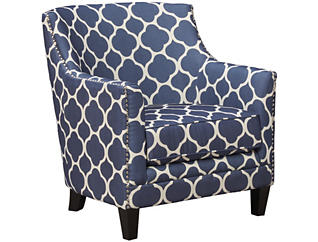 Dinah Accent Chair, Marine Blue, , large