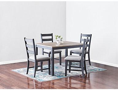 Marty 5pc Dining Set, , large