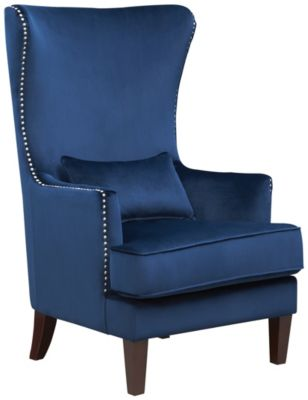 Kori Accent Chair, Navy Blue, Navy, swatch